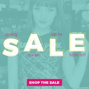 Up to 50% off Sale - T-Shirts, Clothing, Home, Acsessories, Games etc. @ TruffleShuffle