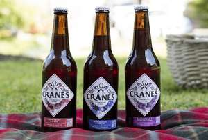 Cranes Ciders 500ml £2.20 - third off £1.40 using Checkout Smart in Asda