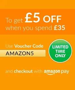 £5 off £35 @The entertainer using amazon pay