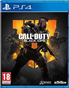 PS4 / PS4 Pro : Call Of Duty: Black Ops 4  £18 (Buy in-store from your local CEX store)