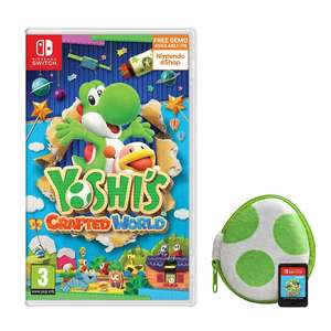 Yoshi's Crafted World (Nintendo Switch) + Egg case £39.99 when pre-ordered and collected instore this Friday at Smyths Toys
