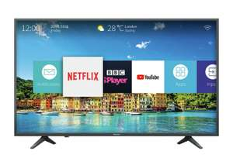 Hisense 50 inch 4k ultra HD & HDR £349. Model H50A6250UK Smart 4K UHD TV @ Argos