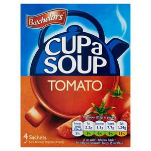 Tomato Cup a Soup 4pk is 69p at Poundstretcher