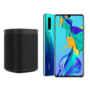Huawei P30 on o2 - Unlimited Minutes and Texts and 30GB of data with ZERO Upfront - £36pm with free SONOS ONE Speaker (24mo - £864) @ MPD
