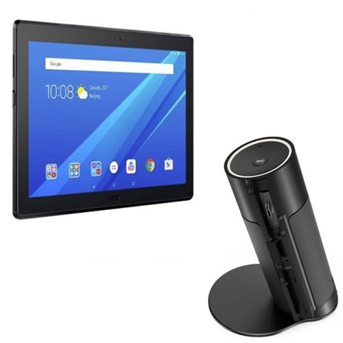 4G Lenovo Tab 4 10 Plus with 3GB RAM / 16GB Storage + Slide On Lenovo Smart Voice Assist Speaker  £159.93 w/code @ Laptop Outlet