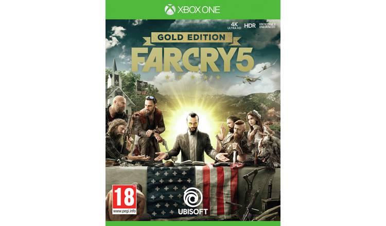 Far Cry 5 Gold Edition Xbox One Game £29.99 @ Argos (Free C&C)
