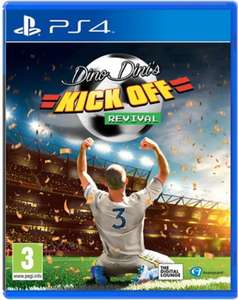 PS4 Dino Dini's Kick Off Revival - 99p @ GAME (+£1.95 P&P)