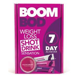 Boombod 7 Day Achiever 21 Sachets Blackcurrant Flavour - £14.99 @ Holland and Barrett