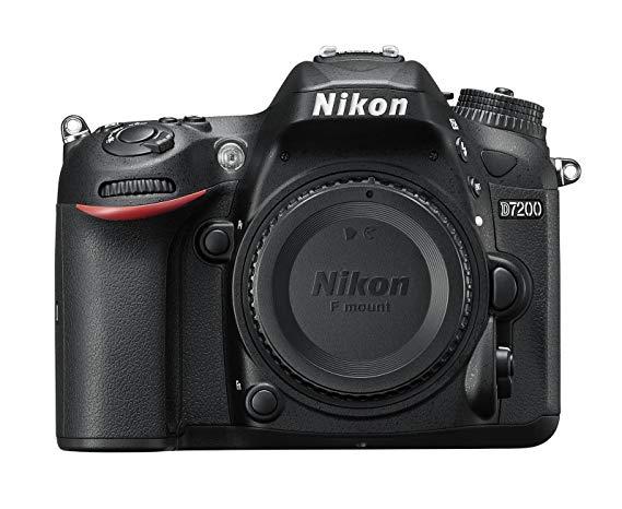 Nikon D7200 Digital SLR Camera Body (24.2 MP, Wi-Fi, NFC) 3.2-Inch LCD Screen £599 @ Amazon