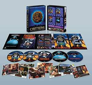 The CRITTERS Collection Blu-Rays + DVDs Special Collectors Edition, this will become RARE (Read My Description) @ Amazon Spain