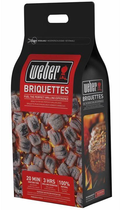 Weber BBQ Briquettes 8kg bag - £11.49 @ Go Outdoors