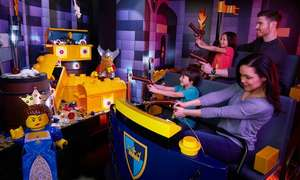 LEGOLAND Discovery Centre Birmingham - Child & Adult Combo Ticket with a LEGO toy (was £36) now £15.16 with code more ticket option in post