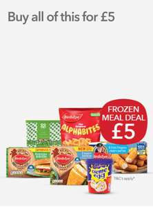Co-op Frozen Meal Deal - 6 items for £5