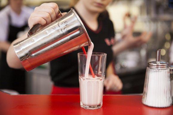 Free Milkshake Ed's Easy Diner