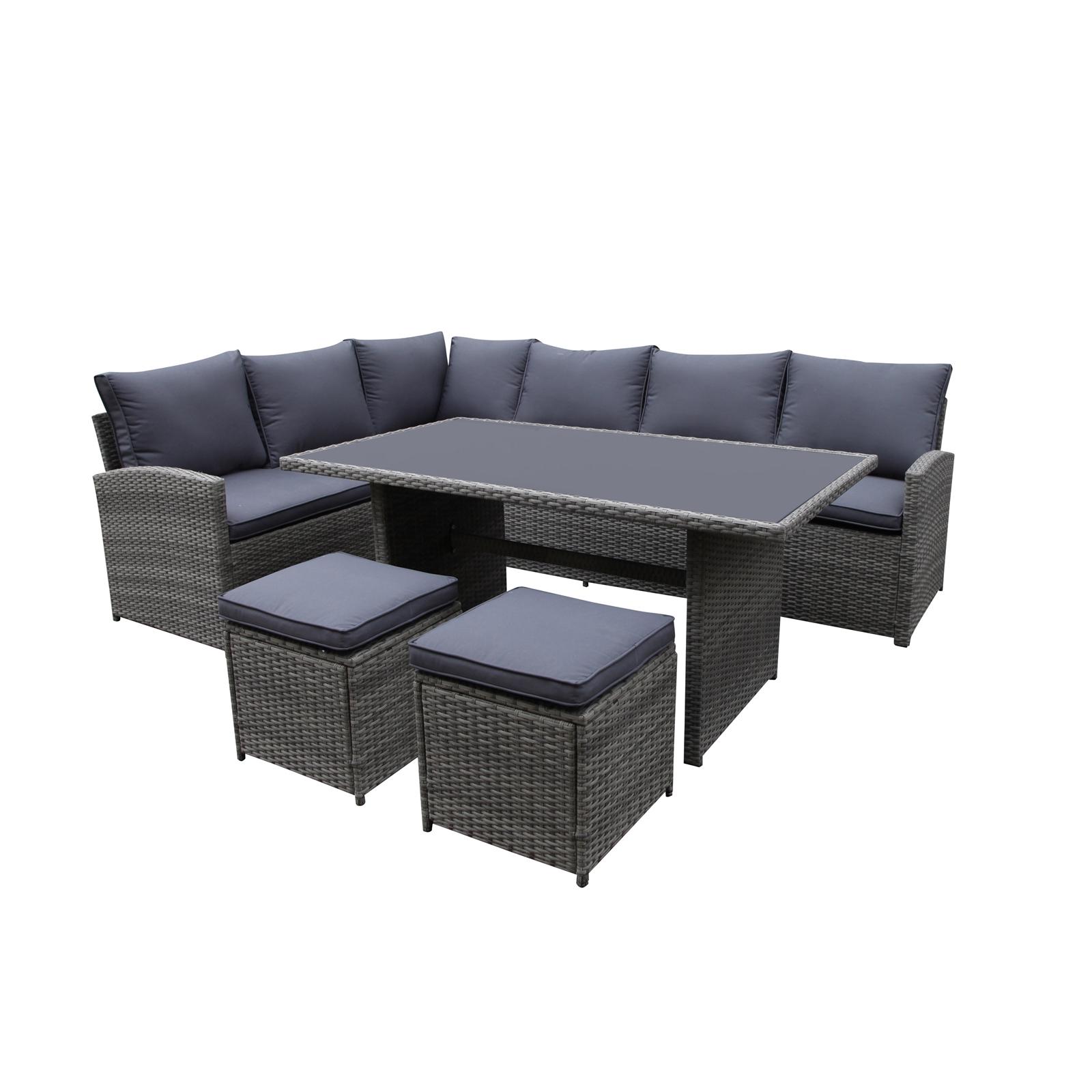 Matara Corner Sofa Dining and Garden Furniture Set £499 @ Homebase