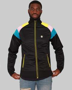 Flash Sale 50% Off All Full Priced Items with code: Le Breve Mens Retro Zipup In Black (was £22) Now £11 / £12.99 delivered @ Republic Union