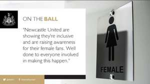 Free Tampons (On The Ball Campaign) @ St James Park (Newcastle United Stadium)