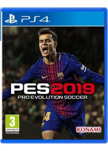 PES 2019 (PS4) for £16.85 delivered @ Base (Xbox One - £17.85)