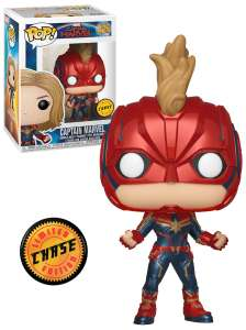 Captain Marvel Special edition Funko pop figures £10 @ Tesco inc glow in the dark.