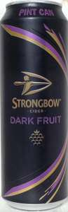 Strongbow Dark Fruit Pint Cans 4x568ml £3.25 @ Co-op