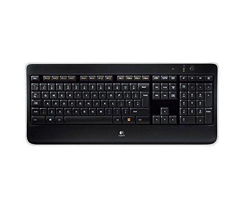 Logitech K800 Illuminated Wireless Keyboard - £51.99 (Prime Student Members Get an Extra 10% Off) @ Amazon
