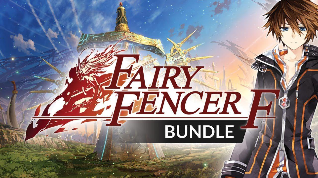 Fairy Fencer F Bundle - Inc Fairy Fencer F, Fairy Fencer F Advent Dark Force plus 8 DLC PC Steam Key £3.89 @ Fanatical