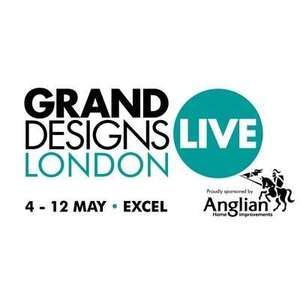 FREE Grand Designs Live tickets courtesy of MSE