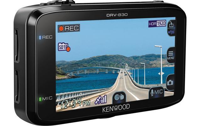 Kenwood DRV-830 Dash Cam 3.7M Pixels resolution (Wide Quad-HD) now £85 save £90, @ Halfords free c&c