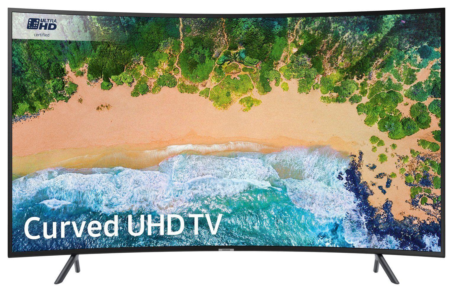 Samsung 55NU7300 55 Inch Curved 4K Ultra HD HDR Smart WiFi LED TV - Black - £254.99 delivered @ Argos eBay (Refurb w/ 1 Year Guarantee)