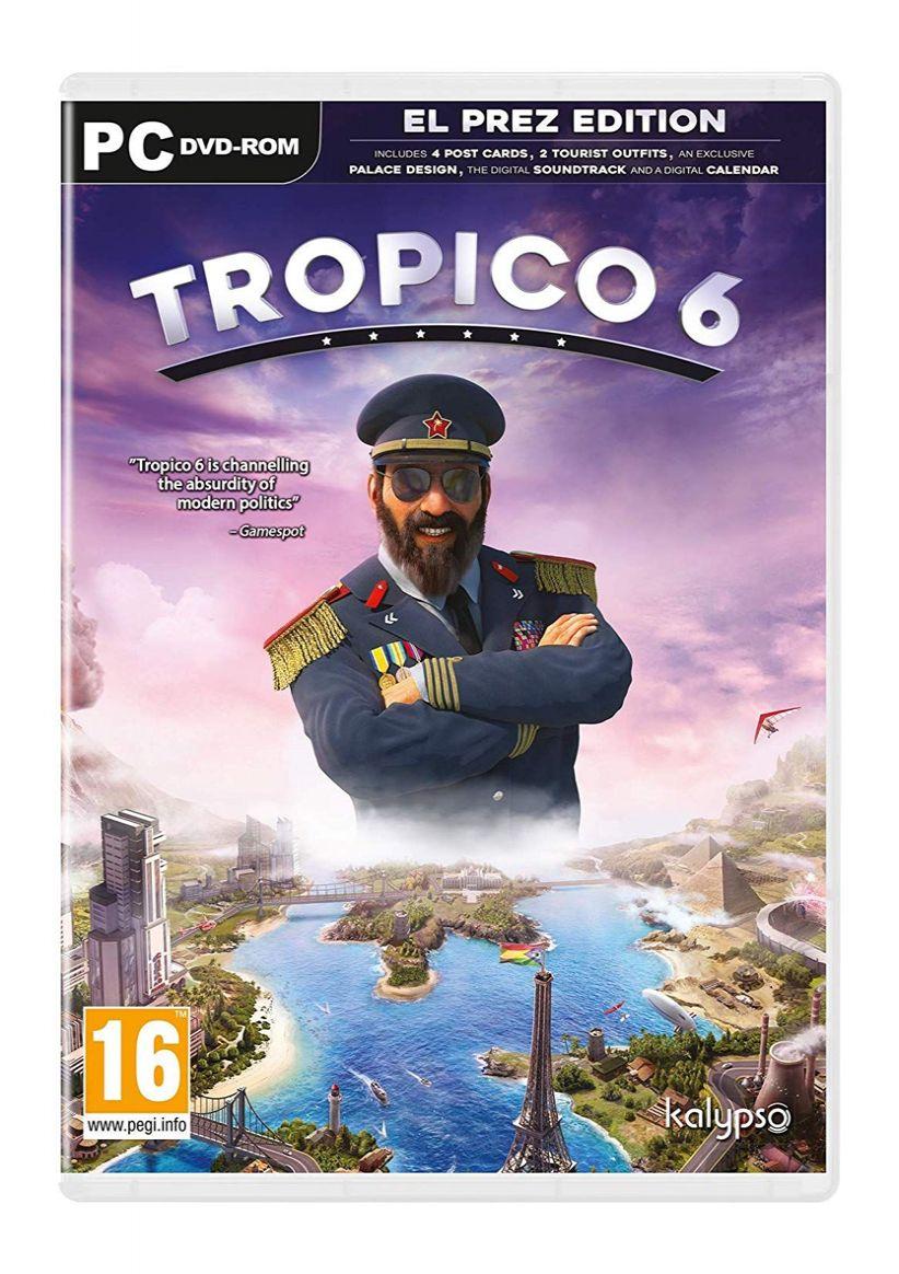Tropico 6 El Prez Edition on PC 85p @ Simply Games