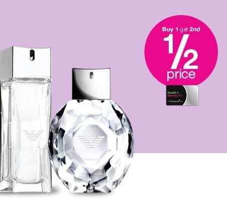 Buy one fragrance get one half price on all fragrances - Superdrug online and Instore