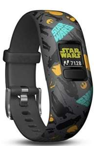 Garmin vivofit Jr. 2 - Star Wars The Resistance Fitness Activity Tracker for Kids - Adjustable Band - Grey and Yellow £49.99 Amazon