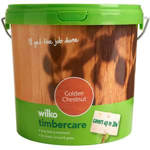 wilko timbercare exterior wood paint 5l 3 wilkos free. Black Bedroom Furniture Sets. Home Design Ideas