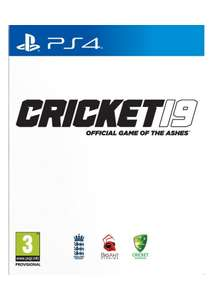 Pre Order Cricket 19 PS4, Nintendo Switch & Xbox One £38.85 delivered @ Base.com