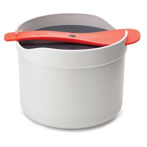 Joseph Joseph M-Cuisine Microwave Rice and Grain Cooker - Stone/Orange rrp £20 now £8 at Amazon (+£4.49 non Prime)