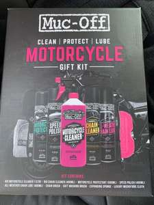 Muc-Off Motorcycle Gift Kit Bargain! Halfords - Scanning at £28 instore