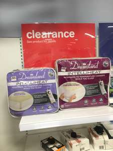 Dreamland intelliheat electric blanket single or double £5 Boots in store