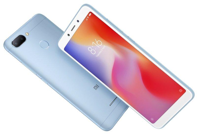 "Xiaomi Redmi 6 - 5.45"" 3GB 32GB / 4G / Dual Sim Smartphone - Blue - £100 @ eBuyer"