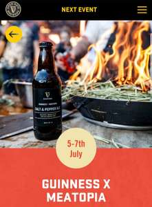 Guinness X Meatopia in Dublin 5th, 6th, 7th July