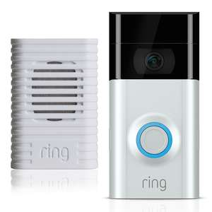 Ring Video Doorbell 2 & Chime with 6 months free cloud recording £131.98 @ Costco