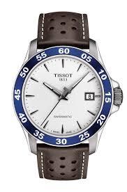 Tissot T-Sport V8 Swissmatic Stainless-Steel Brown Leather Men's Watch £250 @ Fraser Hart