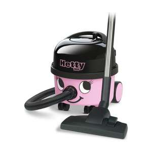 HETTY -160-11 NEW 6L  BAGGED CYLINDER VACUUM CLEANER £90.99 Delivered @ Direct Vacuums Ltd - 1 Year Guarantee.Also, Refurb Hetty  £78.99