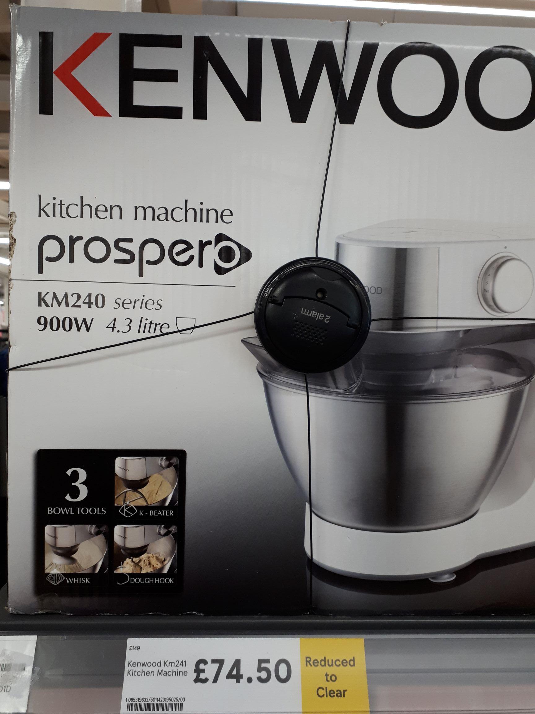 Kenwood Prospero kitchen machine £74.50 in-store @ Tesco (Romford)