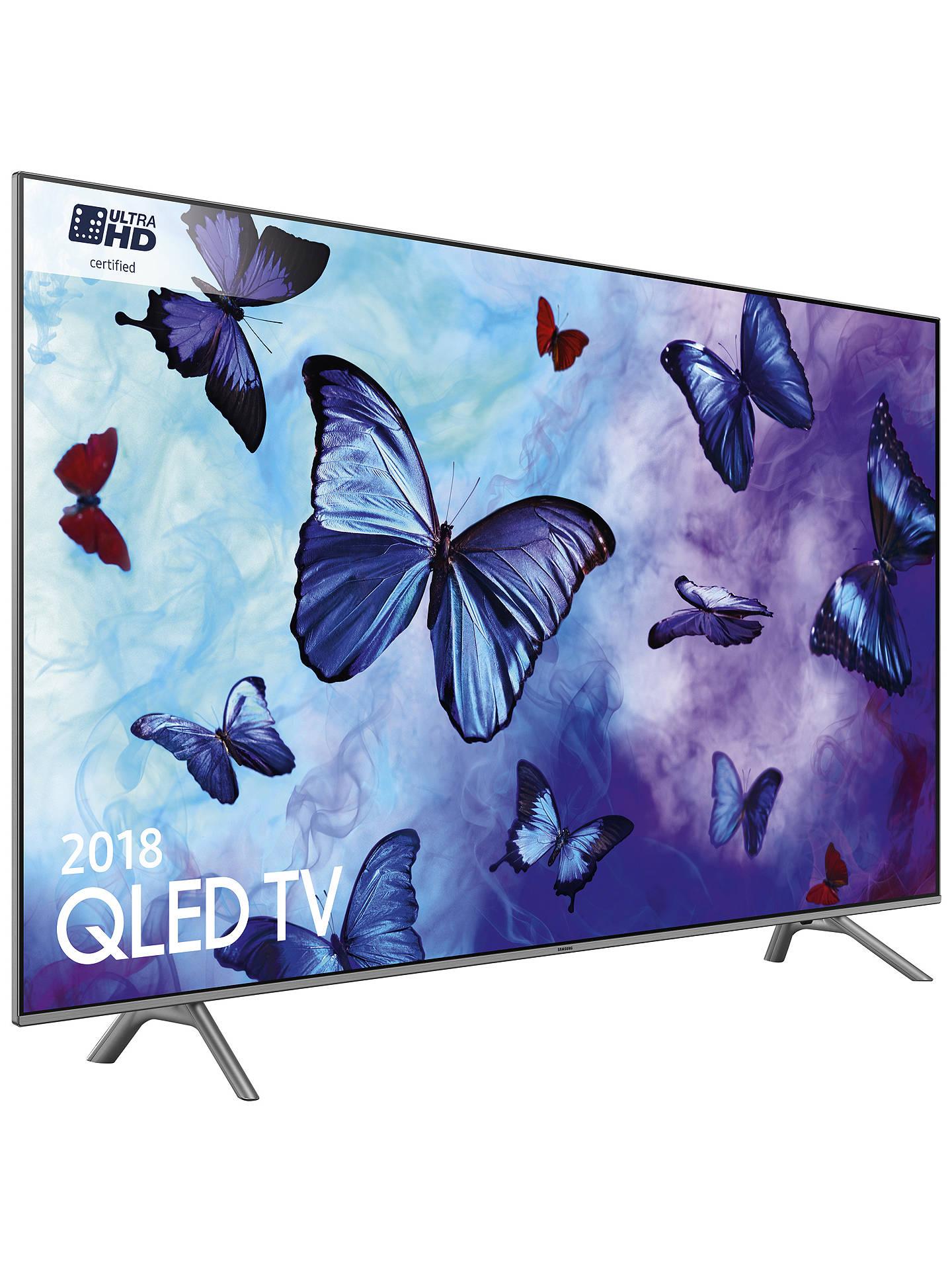 Samsung 55inch QLED TV QE55Q6FNAT 2018 model, Ultra HD, HDR10+ £699 @ districtelectricals