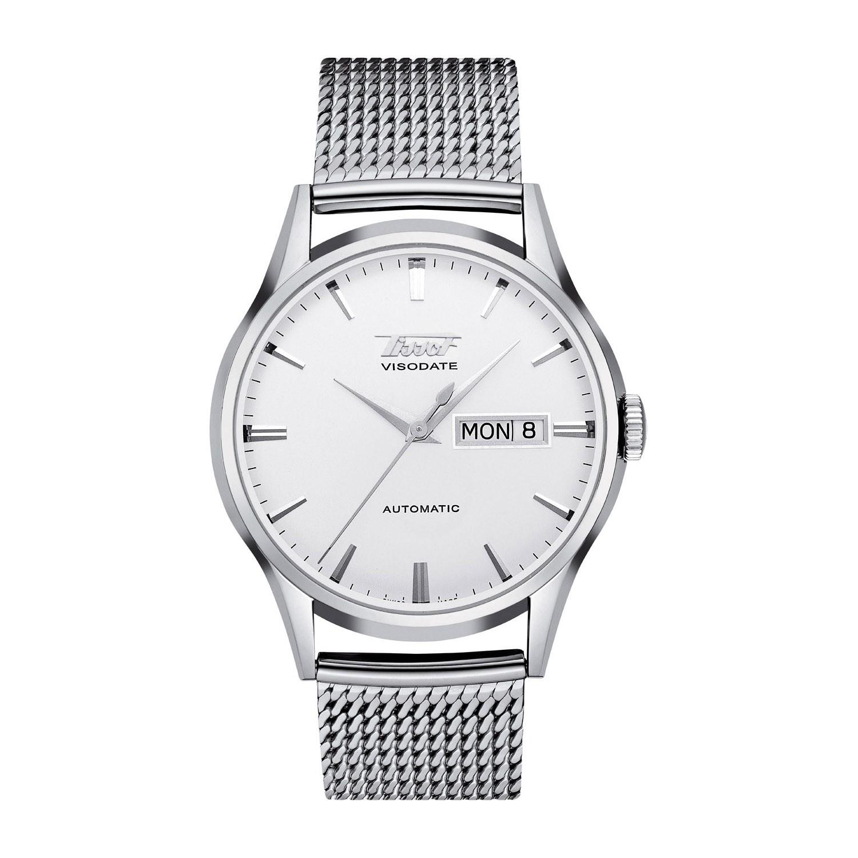Tissot Visodate Automatic Sapphire  on Mesh Bracelet Men's Watch £315@ Fraser Hart