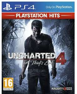 Uncharted 4 A Thief's End HITS Range on PlayStation 4 For £11.85 Delivered @ Simplygames