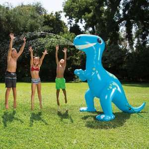 Up to 25% Off Toys inc Lego + New In Outdoor Toys @ Asda George eg Happy Hop Bouncy Castle now £70 / 9ft Tall Dino Sprinkler £25