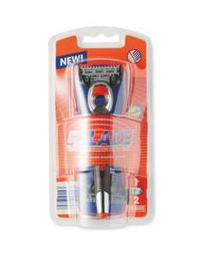Aldi 5 Blade Razor Shaving System £2.99