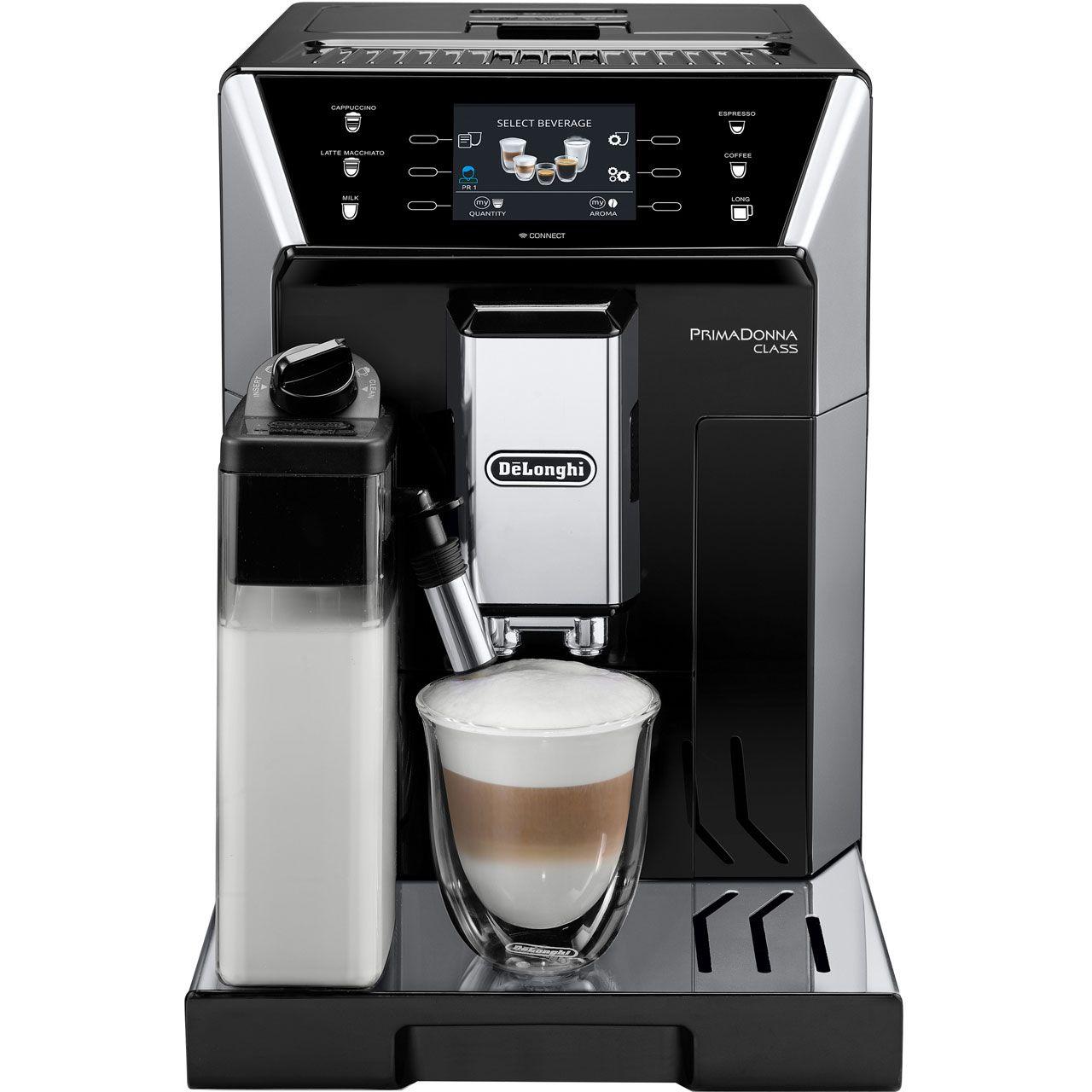 Delonghi Prima Donna class ECAM550.55.SB bean to cup coffee machine only £499.99 @ Costco