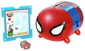 Marvel Tsum Tsum Spiderman Stack n Display Set with vintage Spiderman Tsum Tsum £3.99 delivered @ eBay sold by Argos